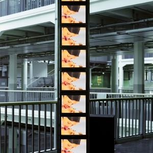 """""""Drinking"""", 2000/2001, Videoinstalation, HfG Karlsruhe"""