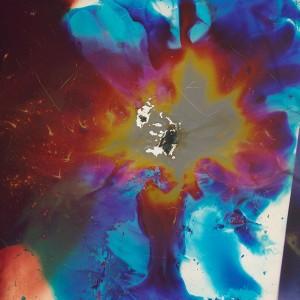 """Myhtight I"", 2014, ca. 250x180cm, colorphotogram-scan/Fine Art Print, 2+1AP / 110x80cm, 50+1AP"