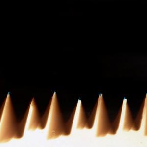 """SAW no.4"", 2013, ca. 70x180cm, photogram on colorfilm/lambdaprint, 2+1 AP"