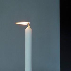 """candle no.3"", 2011, ca. 80x85cm, C-Print analog, 2+1 AP"