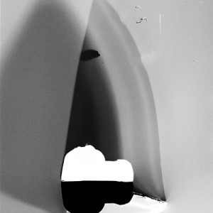 """KNF no.1"", 2013, ca. 100x70cm, photogram on colorfilm/C-Print, 2+1 AP"