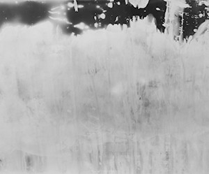 """WOS no.1/ the water on my body"", 2012, ca. 106x200cm, BW Photogram, unique"