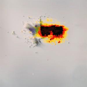 """FSCP I (film-scrapings I) no.9″, 2015, ca. 120x100cm, photogram on colorfilm/C-Print, 2+1 AP"
