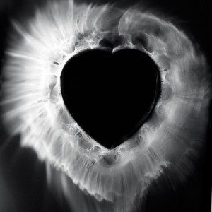 """HEART II No.8″, 2016, ca. 128x100cm, photogram on colorfilm/C-Print analog, 2+1 AP"