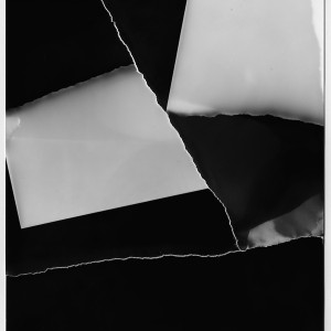 """The RESTRUCTION no.12″, 2017, ca. 140x100cm, Photogram / Fine Art Print, 2 +1 AP"
