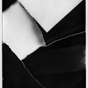 """The RESTRUCTION no.10″, 2017, ca. 140x100cm, Photogram / Fine Art Print, 2 +1 AP"