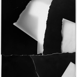 """The RESTRUCTION no.28″, 2017, ca. 140x100cm, Photogram / Fine Art Print, 2 +1 AP"