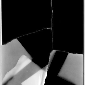 """The RESTRUCTION no.17″, 2017, ca. 140x100cm, Photogram / Fine Art Print, 2 +1 AP"