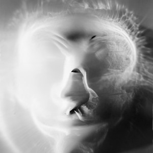 """Study of a mask no.5″, 2018, ca. 130x100cm, photogram on colorfilm/C-Print analog, 2+1 AP"